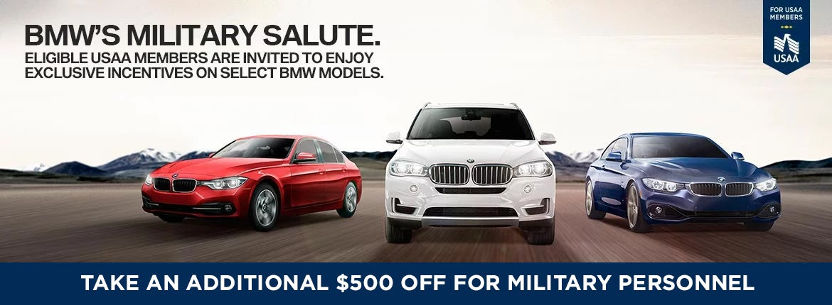 BMW Military Incentives Capital BMW in Tallahassee FL