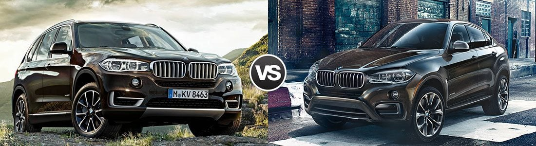 Compare 2017 Bmw X5 Vs Bmw X6